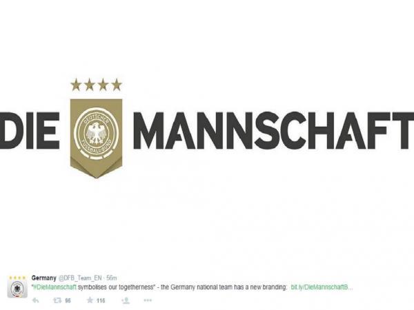 Seleção alemã tem novo logótipo