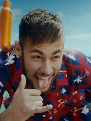 Neymar vira turista